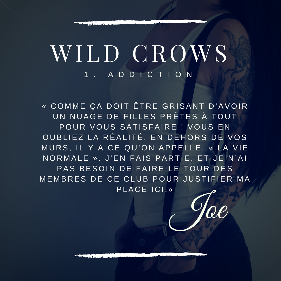 Joe blacke wild crows