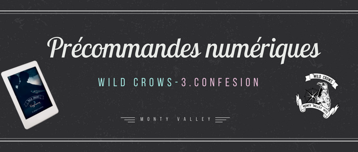 précommandes wild crows 3 confession
