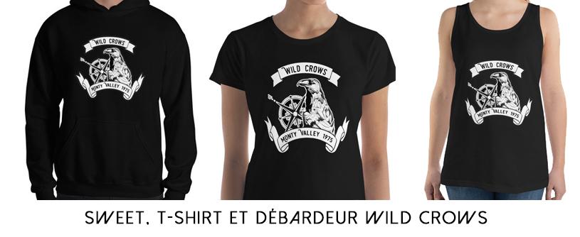 Wild Crows tshirt
