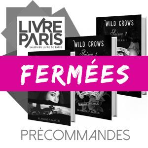 Précommandes LIVRE PARIS 2019